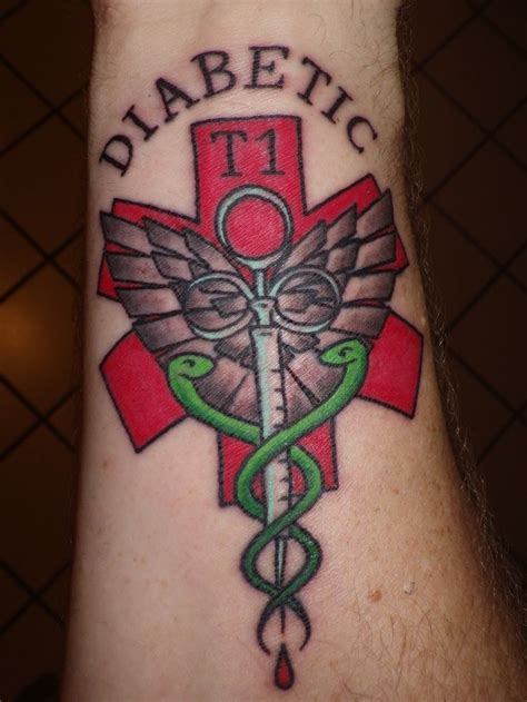 diabetes and tattoos id tattoos