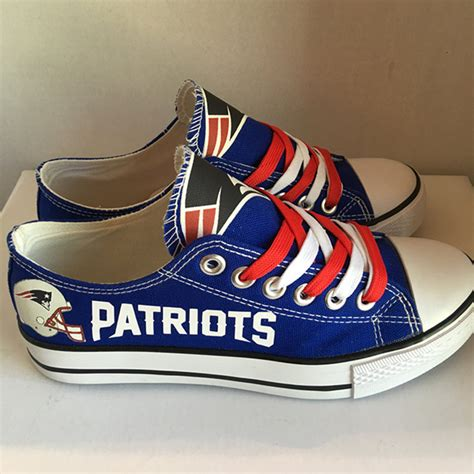 patriots shoes new patriots handmade converse new