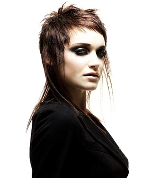 modern mullet hairstyles for women ugly retro hairstyles for women