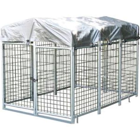 options plus 4 ft x 6 ft x 4 ft folding kennel