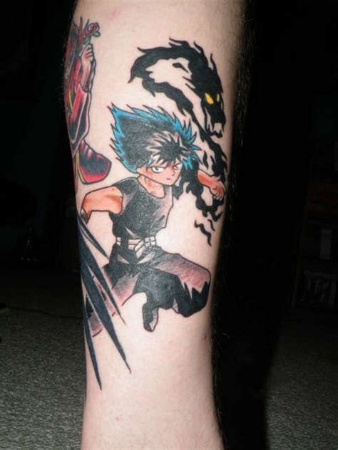 yu yu hakusho tattoo 81 best that i images on scribble