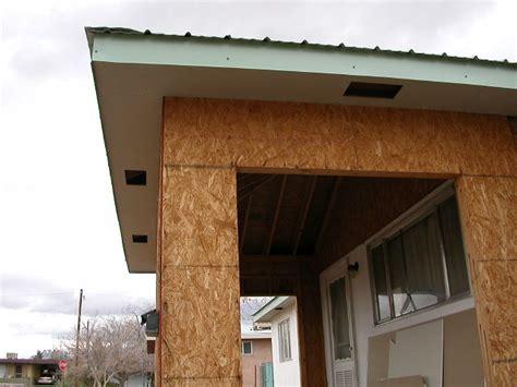 Flat Roof Overhang Bellamah