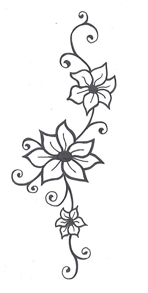 simple vine tattoo designs easy drawings of flowers and vines best 25 vine drawing