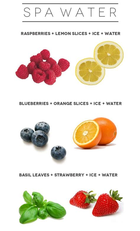 What Can You Add To Spa To Detox by Summer Tip Spa Water Recipes Food Is My Favorite
