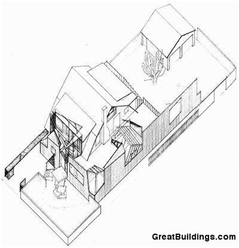 frank gehry floor plans gehry residence frank gehry archdaily