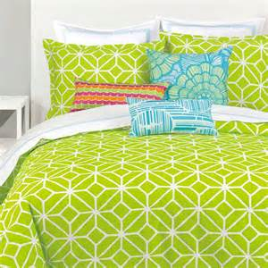Lime Bedding Sets Trellis Lime Comforter Set Xl