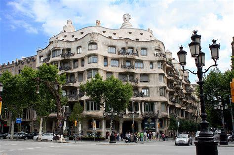 la casa la pedrera barcelona