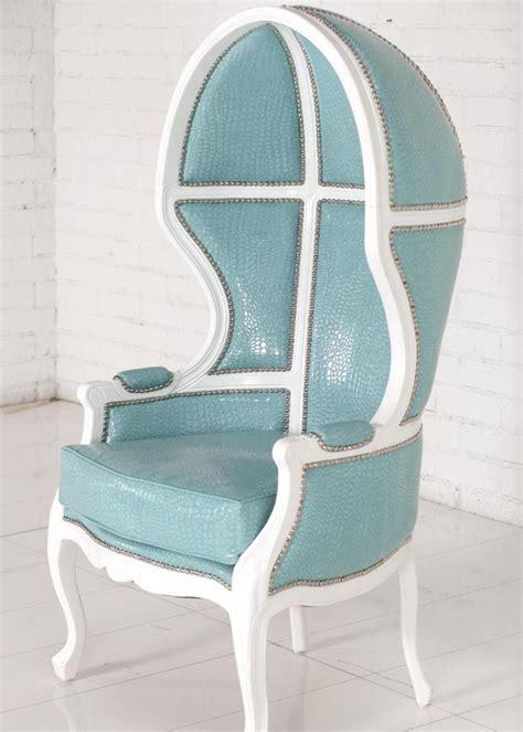www roomservicestore balloon chair in aqua croc