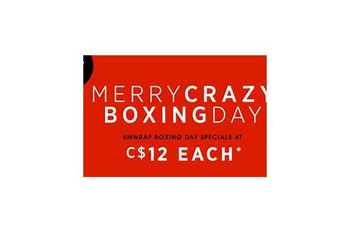 sephora 12 dollar deals boxing day