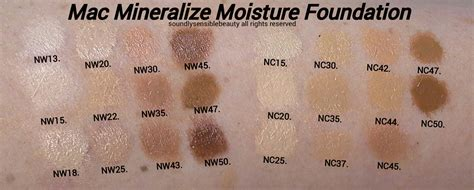 Mac Mineralize Foundation mac mineralize moisture foundation liquid spf 15 review