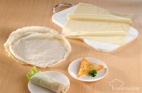 cara buat kulit lumpia enak cara membuat kulit lumpia enak dan renyah resep masakan
