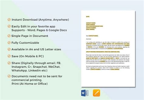 legal letter templates word documents