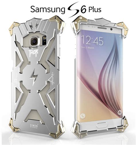 Simon Thor Ii Bumper Iron For Samsung S7 Edge Black for samsung galaxy s7 edge cool s mon thor iron aluminum metal bumper cover ebay