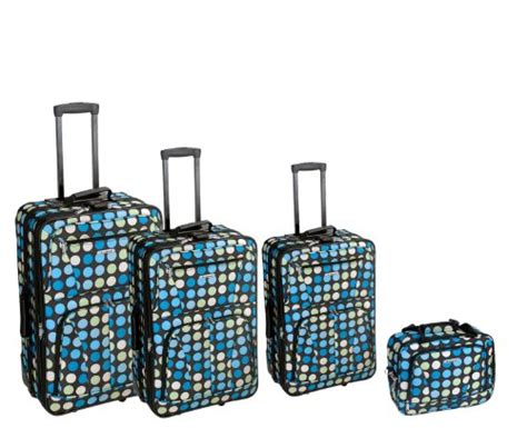 hairstyles for 51 yrs ikd rockland luggage dots 4 piece luggage set multiple blue