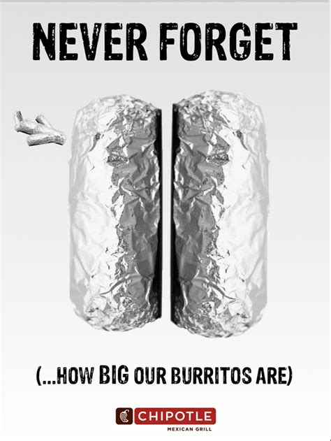 Chipotle?s 9/11 Inspired ?Never Forget? Advertisement Fiction!