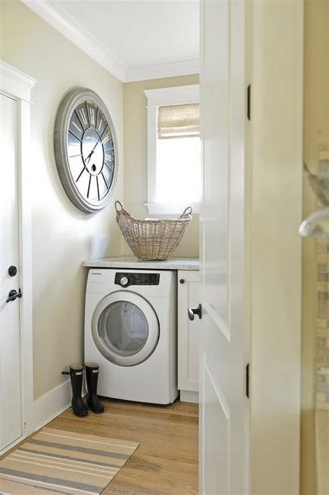 Laundry Room Countertop Washer Dryer by Washer And Dryer Marble Countertop Transitional