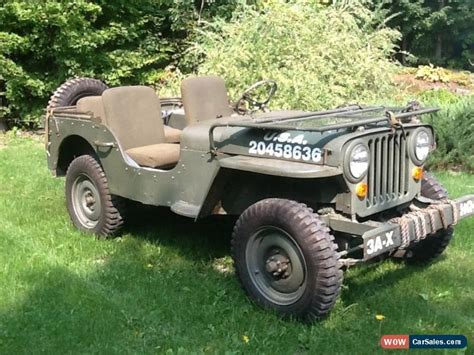 Willys Jeep For Sale Bc 1945 Willys Mb For Sale In Canada