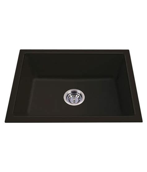 Buy Acrysil Black Acrylic Quartz Kitchen Sink Online At Acrylic Kitchen Sink Reviews