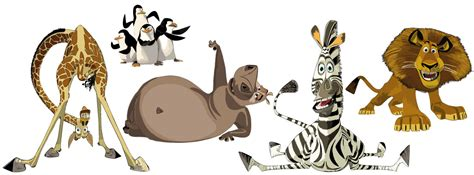 madagascar wall stickers madagascar wall stickers totally movable and reusable