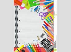 School Stationery Supplies Stock Photo - Image: 43431009 Exercise Clip Art Free To Copy
