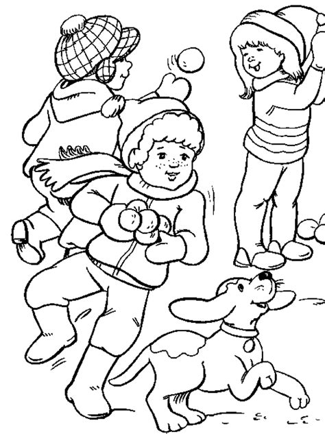 coloring pages of kids playing coloring home