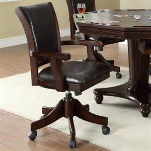 Gaming Dining Tables 100873 Dining Gaming Table In Espresso W Options