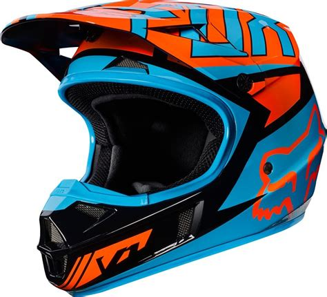 one motocross 119 95 fox racing youth v1 falcon mx motocross helmet 995536