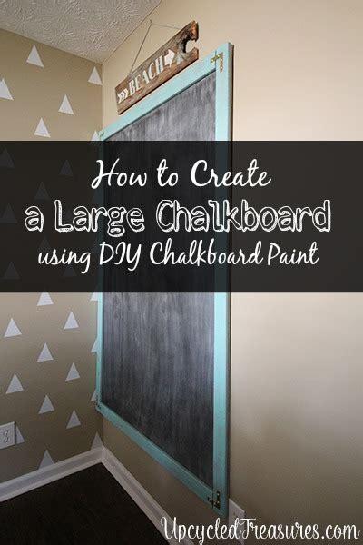 diy chalkboards make a chalkboard mountainmodernlife