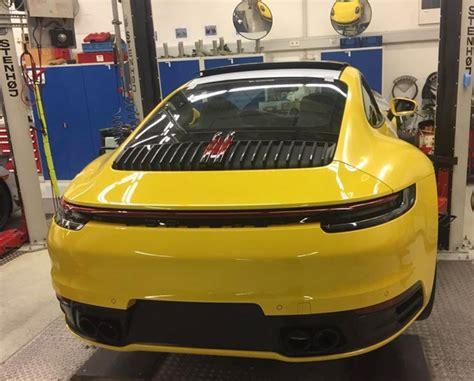 2019 New Porsche 911 by 2019 Porsche 911 Leaked