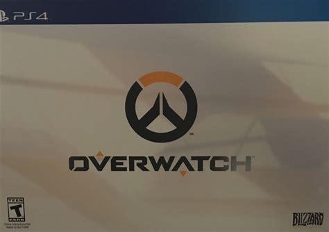 Ps4 Overwatch Collectors Edition overwatch collector s edition playstation 4