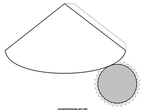 figuras geometricas moldes para armar cono para armar imagui