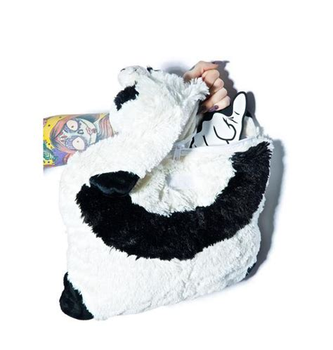 Pillow Pet Backpack by Pillow Pets Comfy Panda Backpack Dolls Kill