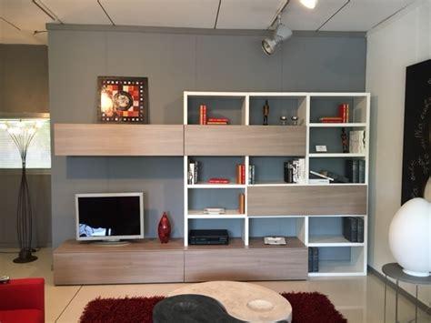 soggiorni pareti attrezzate soggiorno maronese seta laminato materico pareti
