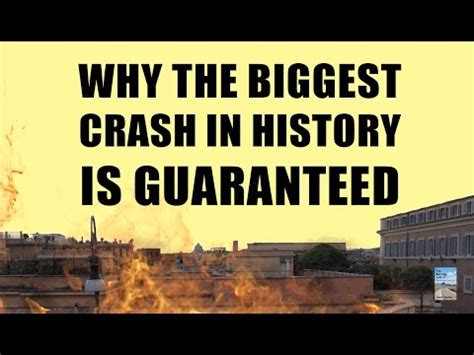 why the biggest stock market crash in history can't be