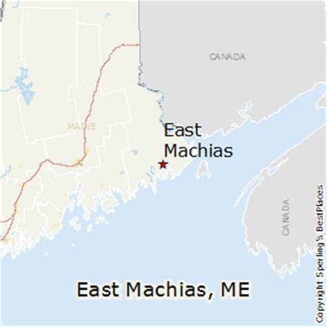 best places to live in east machias, maine