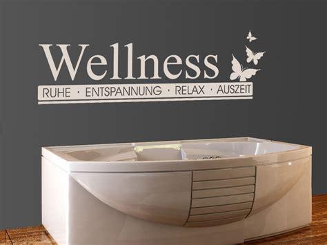 wandtattoo wellness wandtattoos bad wellness modern homesticker de