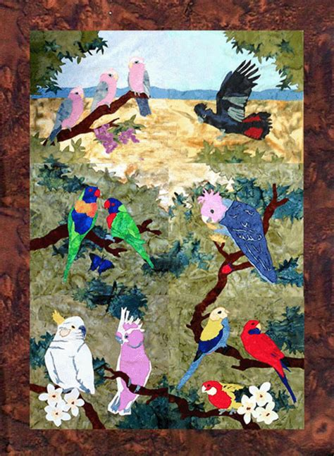 Quilt Kits Australia by Winddancer Australian Parrots Of Paradise Quilt Patterns
