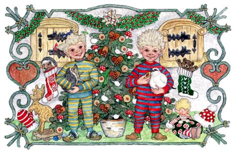 jan brett printable christmas cards troll kids clothes