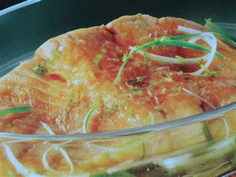 cuisine basse temp駻ature recettes dos de saumon cuisson basse temp 233 rature