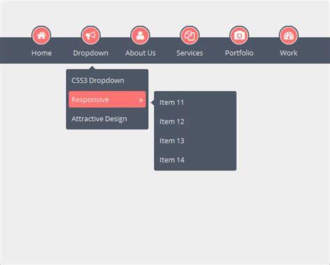 html design drop down menu fuelmybrand blog logo design and corporate identity