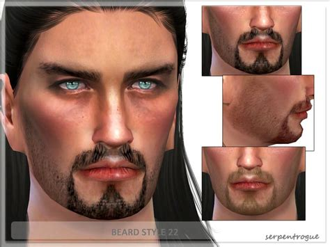 update mustache styles 18 best the sims 4 cc hair male images on pinterest