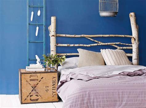 Hermoso  Ideas Para Cabezales De Cama #3: Diy_cabecero_cama_rustico_troncos_arbol.jpg