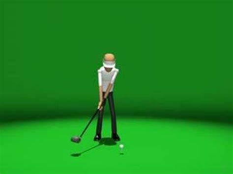 Golf Swing Animation Mathieu Chouinard Youtube