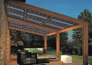 Backyard Shade Solutions Glasswing 174 The First Pv Module With Led Integrated