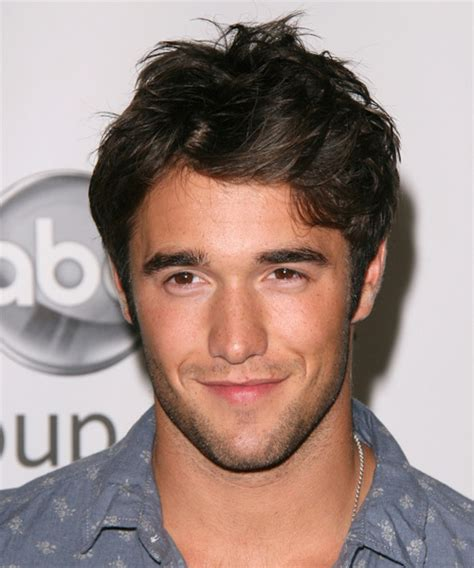 joshua bowman short straight casual hairstyle dark brunette