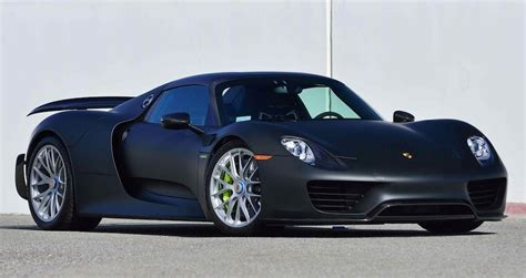 porsche matte up for grabs matte black porsche 918