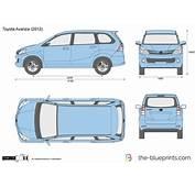 The Blueprintscom  Vector Drawing Toyota Avanza
