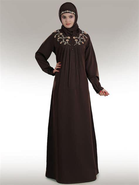 Jilbab Trendy Razia Brown Trendy Abaya Ay211 Muslim Dress Jilbab