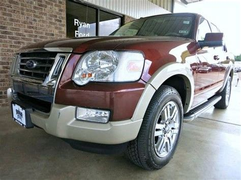 how to fix cars 2009 ford explorer seat position control buy used 2009 leather sunroof 3rd row seat dual climate one owner sync in sealy texas united