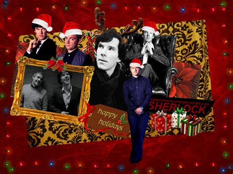 sherlock christmas sherlock on bbc one wallpaper